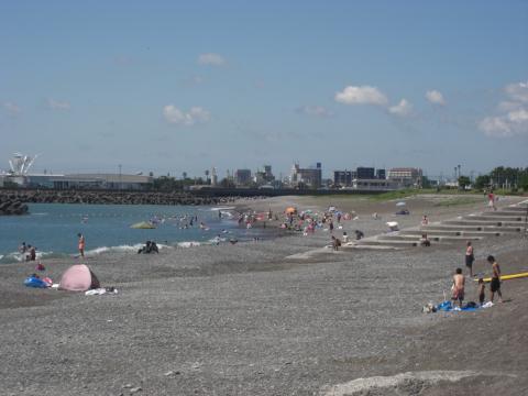 浜当目海水浴場2010